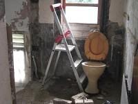 Wet Room Before